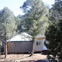Oasis Yurt and building